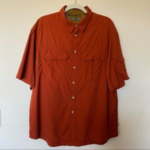 REI Sahara Outdoor Solid UPF Shirt